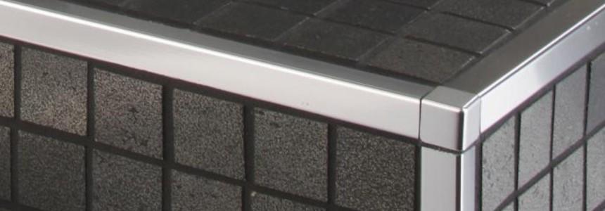 Blanke Belagsabschlüsse für Wand und Bodenbereiche