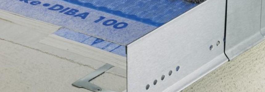 Blanke Balkon- und Terrassenprofile inkl. Zubehör