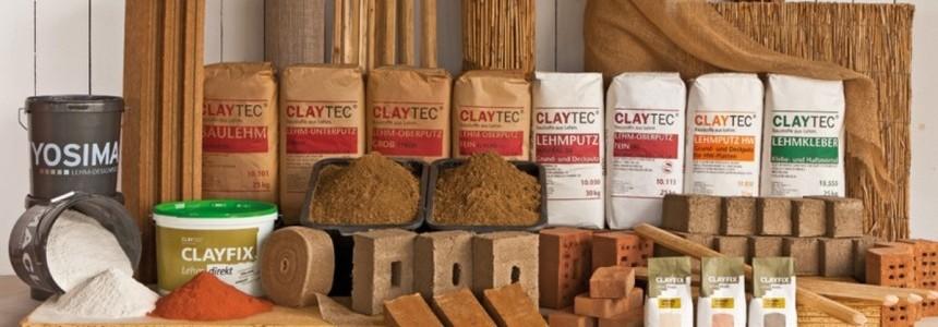 Claytec Stampflehm und Rohbau