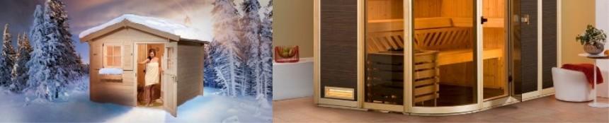 Weka Sauna Eigenbau / Ausstattung