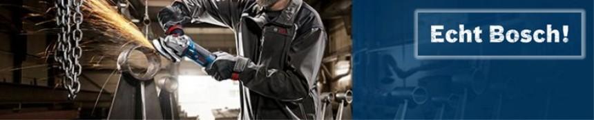 Bosch Winkelschleifer und Metallbearbeitung