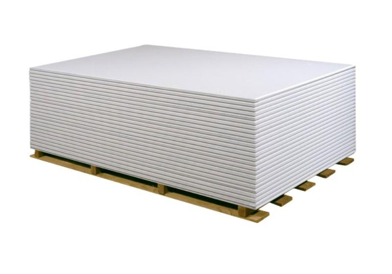 Marken-Gipskarton Volle Paletten Gipskartonplatten 2.500 x 1.250 x 12,5 mm | 1 Palette (156,25 qm) 2884