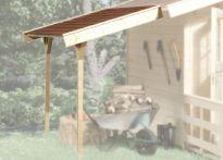 Weka Schleppdach für Gartenhäuser 19/21 (330.0106.20400)