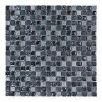 HPH Placke Mosaik 1,5x1,5 BELLINO-1 nero anticato 30x30x0,8 cm Art. 14837