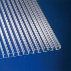 Scobalit klar 16 Polycarbonat Hohlkammerplatte longlife Breite: 1200 mm - Doppelstegplatte