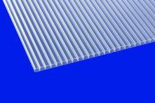 Scobalit klar 16 Polycarbonat Hohlkammerplatte longlife Breite: 980 mm - Doppelstegplatte