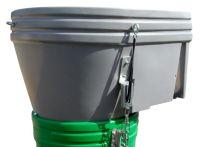 Grün Kunststoff-Einfülltrichter für SchuttStar 120