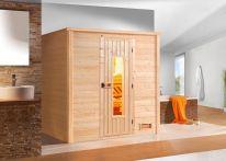 Weka MH-Sauna BERGEN 1 HT, 198 x 148 x 203 cm, naturbelassen