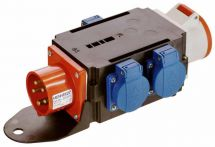 AS-Schwabe Adapter Mixo Cee 400V16A /400/230V16A