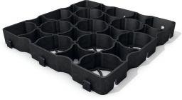 hanit® Recyclingkunststoff Hanpave™ 33,3 x 33,3 x 4 cm, schwarz