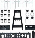 NW Werkzeughaltersortiment passend zur Lochwand 30-tlg. f. 4000870177/870178 (4000870183)