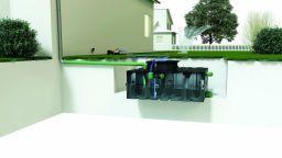 ACO Rain4me Gartenanlage Basic Einbau liegend