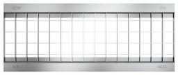 ACO Self 200 Maschenrost 0,5m für Rinne NW150