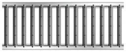 ACO Galaline Stegrost Stahl verzinkt Klasse A