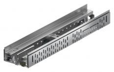 ACO Profiline Fassadenrinne V2A mit integriertem Stichkanalanschluss