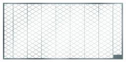 ACO Lichtschachtroste Streckmetall begehbar 40 cm Tiefe, für Lischa.: (BxT):  80x40 cm
