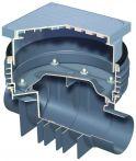 ACO Triplex-K Reinigungsrohr mit Schacht
