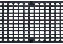 ACO Längsstabrost mit Maschenoptik (NW 300) LxB: 30 x 18 mm, Nr.: 13873