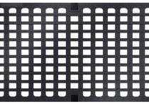 ACO Längsstabrost mit Maschenoptik (NW 300) LxB: 25 x 18 mm, Nr.: 13874