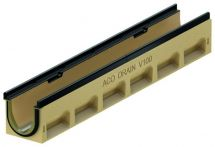 ACO Multiline HD Seal in V100G Rinne - Schwerlastrinne Belastungsklasse E 600 mit Dichtung
