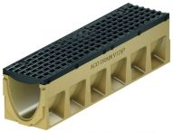 ACO PowerDrain V175 Schwerlastrinne B: 235 mm - Belastungsklasse E 600