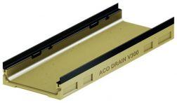 ACO DRAIN Multiline V300 Flachrinne Belastungsklasse E 600 - 1 m lang