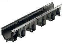 ACO XTRADRAIN Rinnenkörper - 1 m lang NW 100 m. Stahlkante, Nr.: 11100