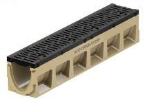 ACO PowerDrain V 125/150 P Rinnenkörper - 1 m lang