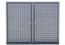 Altvater Aluminium-Doppel-Müllbox 120L, Graualuminium