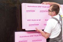 Austrotherm XPS Dämmplatte PLUS 30 SF 1250 x 600 mm - Stufenfalz