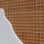 Bekaert Armanet Putzarmierungsgitter Maschenweite 12,7x12,7x0,8 mm - 25 m Rolle