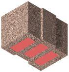 Bisomark Außenwandstein SFK 1,6 - RD 0,35 - Dicke: 36,5 cm (12 DF) m. org. Wärmedämmung
