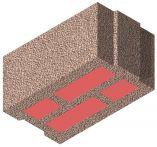 Bisomark Außenwandstein SFK 1,6 - RD 0,4 - Dicke: 30 cm (20 DF) m. org. Wärmedämmung