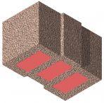 Bisomark Außenwandstein SFK 1,6 - RD 0,35 - Dicke: 42,5 cm (14 DF) m. org. Wärmedämmung