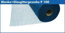 Blanke Glasgittergewebe P 100 blau 1x100 m Rolle  (527-904-02)