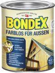 Bondex Farblos für Außen