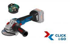 Bosch Akku-Winkelschleifer GWS 18V-10 SC, Solo Version, L-BOXX Art.Nr.: 06019G350B