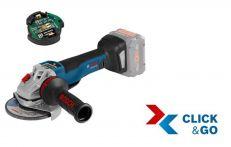 Bosch Akku-Winkelschleifer GWS 18V-10 PSC, mit GCY 30-4, L-BOXX Art.Nr.: 06019G3F0B