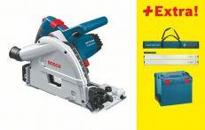 Bosch Tauchsäge GKT 55 GCE, mit FSN 1600, FSN BAG und VEL