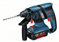 Bosch Akku-Schlagbohrhammer GBH 36 V-EC Compact, mit 2 x 2,0 Ah Li-Ion Akku, L-BOXX Art.Nr.:0611903R0H