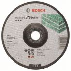 Bosch Trennscheibe gekröpft Standard for Stone C 30 S BF, 180 mm, 22,23 mm, 3,0 mm