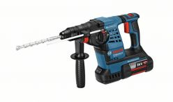Bosch Akku-Schlagbohrhammer GBH 36 V-LI Plus, mit 2 x 4,0 Ah Li-Ion Akku, L-BOXX