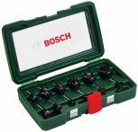 Bosch HM-Fräser-Set, 12-teilig, mit 1/4 Schaft Art.Nr.:2607019465