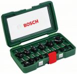 Bosch HM-Fräser-Set, 15-teilig, mit 8 mm Schaft Art.Nr.:2607019469