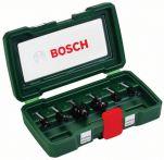 Bosch HM-Fräser-Set, 6-teilig, mit 8 mm Schaft Art.Nr.:2607019463