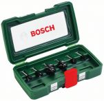 Bosch HM-Fräser-Set, 6-teilig, mit 6 mm Schaft Art.Nr.:2607019464