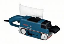 Bosch Bandschleifer GBS 75 AE, mit Koffer, Gewebeschleifband, Staubsack, Grafitplatte