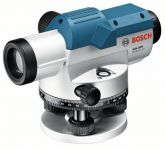 Bosch Optisches Nivelliergerät GOL 20 D, mit Stativ BT 160, Messlatte GR 500 Art.Nr.:061599404R