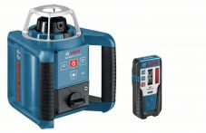 Bosch Rotationslaser GRL 300 HV, mit RC 1, WM 4, LR 1, BT 170 HD, GR 240 Art.Nr.:061599405U