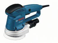 Bosch Exzenterschleifer GEX 125 AC, mit Absaugadapter, Schleifpapier K80 Art.Nr.:0601372565